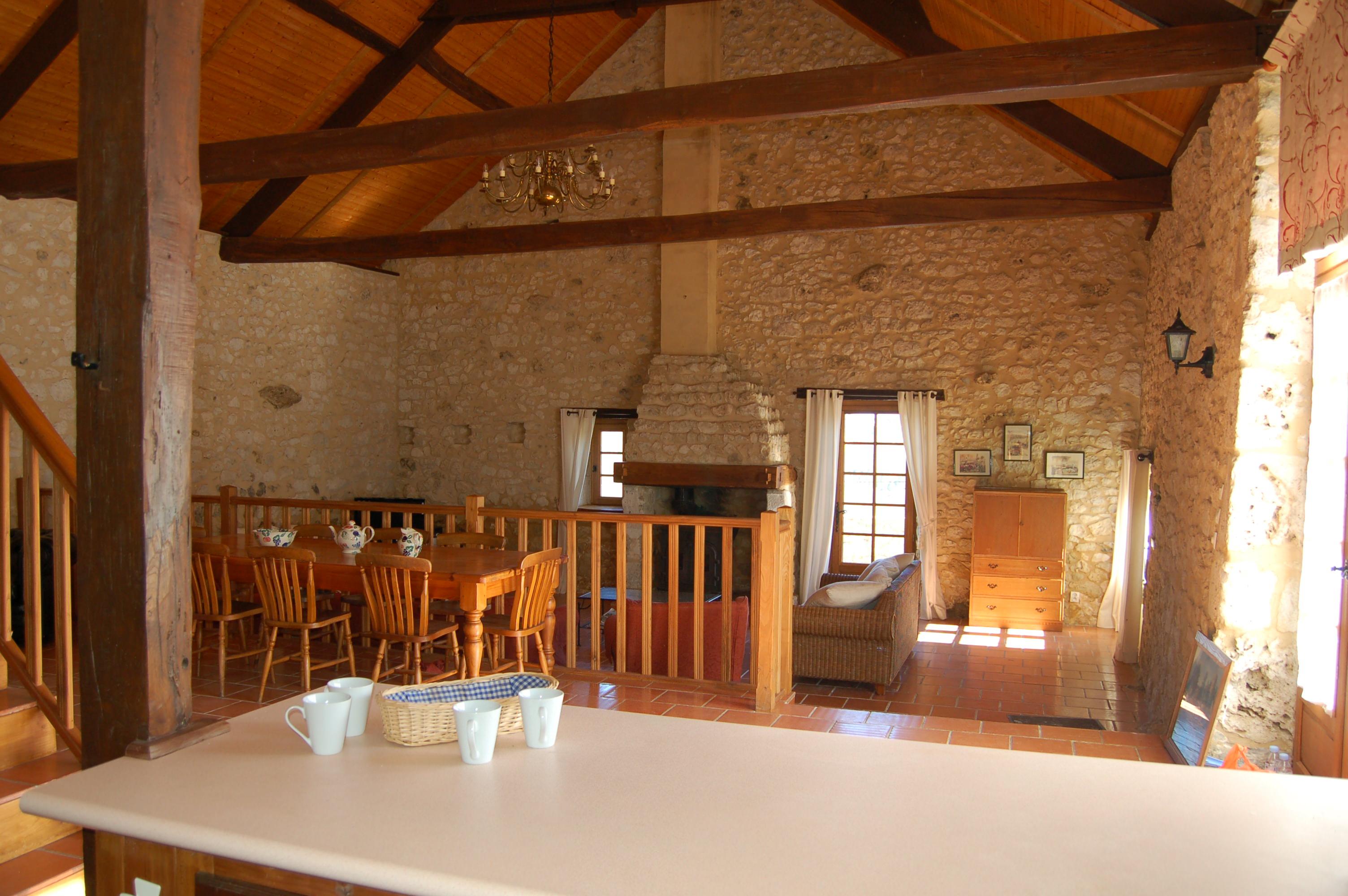 Stylish and elegant gite accommodation dordogne Barn conversion interior design ideas
